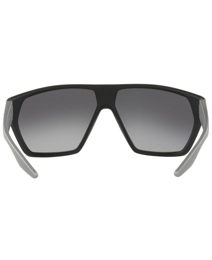 Prada Linea Rossa Polarized Sunglasses, PS 08US 67 & Reviews - Sunglasses by Sunglass Hut - Men - Macy's