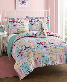 Bon Jour Juvi 4 Pc Full Comforter Set