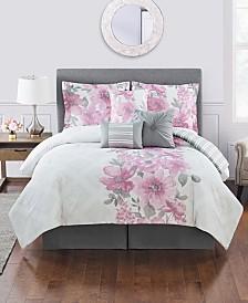 Charlize 7 Pc King Comforter Set