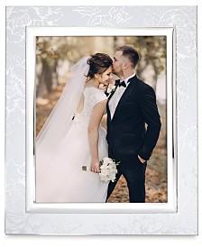 Lenox Silver Peony 8x10 Frame
