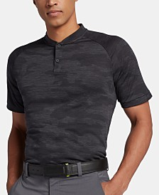Nike Men's Tiger Woods Camo Zonal Cooling Golf Polo
