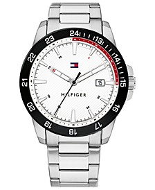 Tommy Hilfiger Men's Stainless Steel Bracelet Watch 43mm, Created for Macy's