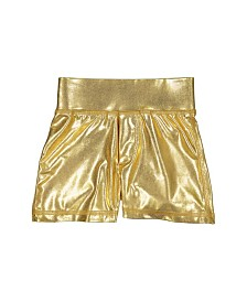 Masala Baby Girls Shorts Metallic