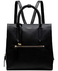 Arlington Court Large Zip-Top Backpack