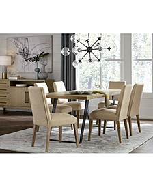 Closeout! Clarita Dining 7-Pc. Set (Table & 6 Side Chairs), Created for Macy's