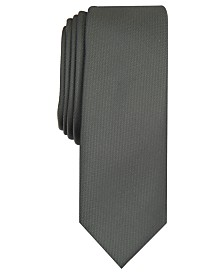 I.N.C. Men's Diamond Solid Skinny Tie, Created for Macy's