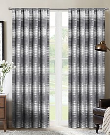"""Crescent Double Layer Total Blackout Rod Pocket Single Curtain Panel 52""""x84"""""""