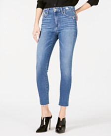 Joe's Jeans Penelope The Hi Honey Frayed-Hem Jeans