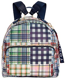 Tommy Hilfiger Plaid Kala Backpack