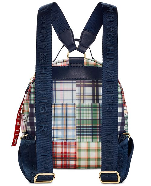 Tommy Hilfiger Plaid Kala Backpack   Reviews - Handbags ... 1b2fd96422ed1