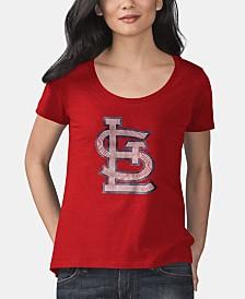 Touch by Alyssa Milano Women's St. Louis Cardinals Big Hitter T-Shirt
