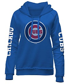 5th & Ocean Women's Chicago Cubs Fleece Hoodie Pullover