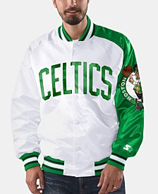 G-III Sports Men's Boston Celtics Dugout Opening Day Satin Jacket