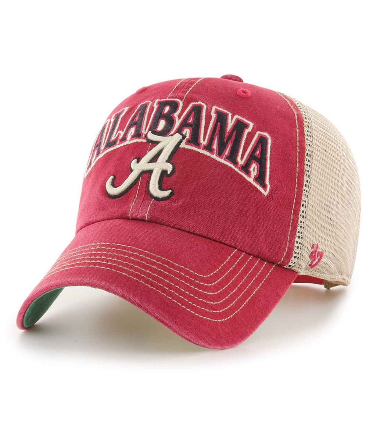 47 Brand Alabama Crimson Tide Tuscaloosa Mesh Clean Up Cap