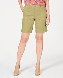 Style & Co Double-Pocket Cuffed Shorts, Created for Macy's