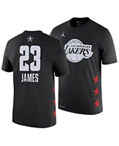 b0a85f01f Nike Men s LeBron James Los Angeles Lakers All-Star Player T-Shirt