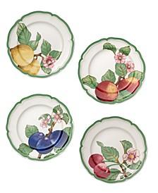 French Garden Modern Fruit Set/4 Salad Plate