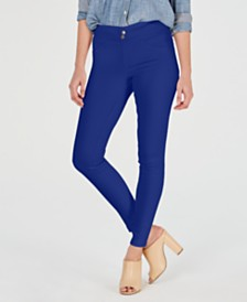 HUE® Women's Original Smoothing Denim Leggings, Created for Macy's