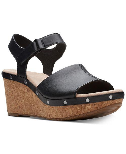 17cf07368ec Clarks Collection Women s Annadel Clover Wedge Sandals   Reviews ...