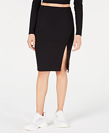 Material Girl Juniors' Ponté-Knit Pencil Skirt, Created for Macy's