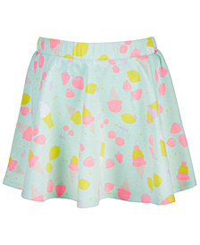 Epic Threads Little Girls Ice Cream-Print Scooter Skirt, Created for Macy's
