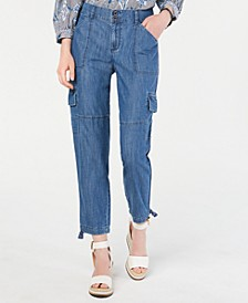 Patch-Pocket Utility Jeans, Created for Macy's