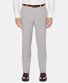 Men's Portfolio Slim-Fit Performance Stretch Non-Iron Tonal Horizontal Stripe Dress Pants