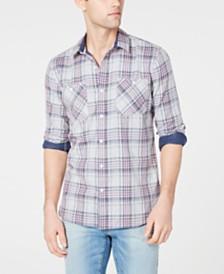American Rag Men's Jared Plaid Shirt