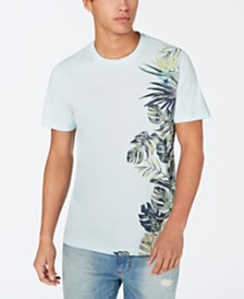 American Rag Men's Side Floral T-Shirt, Created for Macy's