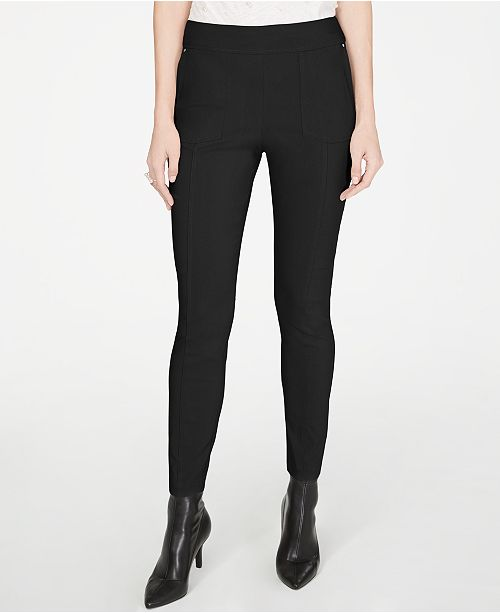 INC International Concepts I.N.C. Skinny Pull-On Pants, Created for Macy's