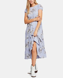 Free People Rita Tiered Midi Dress