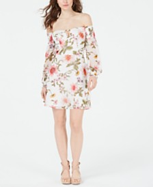 GUESS Carlet Off-The-Shoulder Dress