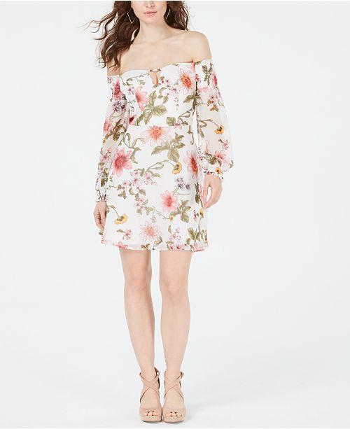 GUESS Carlet Off-The-Shoulder Dress