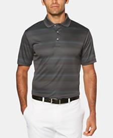PGA TOUR Men's Striped Polo