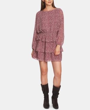1.state Dresses LONG-SLEEVE WILDFLOWER DRESS