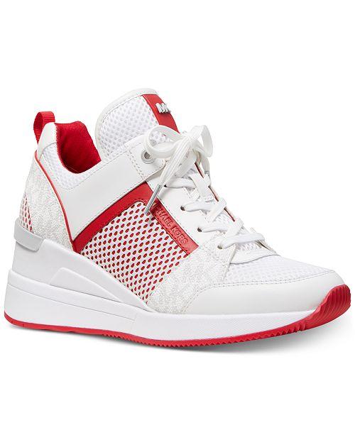 f2a2f155212 Michael Kors Georgie Trainer Sneakers  Michael Kors Georgie Trainer Sneakers  ...