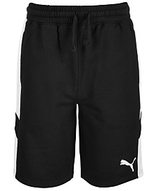 Puma Big Boys Rebel Fleece Shorts
