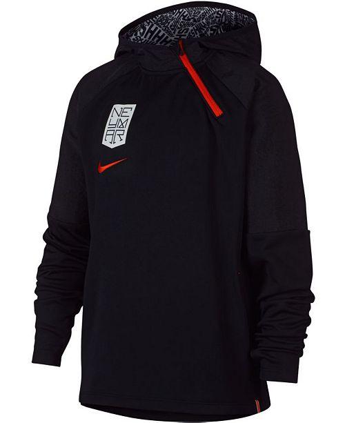 af5617210 Nike Big Boys Neymar Dri-FIT Soccer Hoodie & Reviews - Sweaters ...