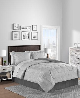 Bayport Reversible 8 Pc. Comforter Sets by General