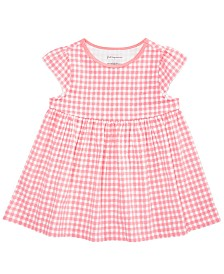 First Impressions Baby Girls Gingham Tunic, Created for Macy's