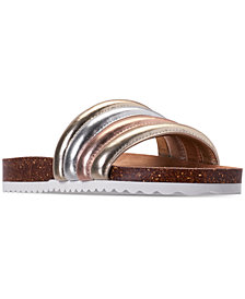 Nine West Little Girls' Marceline Slide Sandals from Finish Line