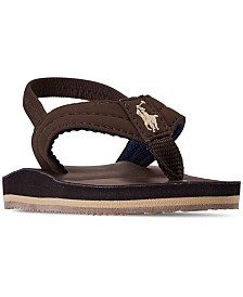 Polo Ralph Lauren Toddler Boys' Leo Sandals from Finish Line