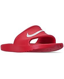 30be7cdaa48de Nike Boys  Kawa Shower Slide Sandals from Finish Line