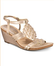 Anne Klein Tilly Wedge Sandals