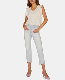 Alt Tapered Twisted Asymmetrical Jeans