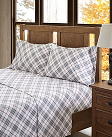 True North Cotton Flannel 4-Piece Full Sheet Set