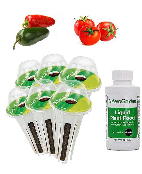 AeroGarden Salsa Garden 6-Pod Seed Kit