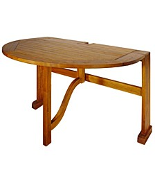 "TERRACE MATES 42"" BISTRO Half-Oval Table"