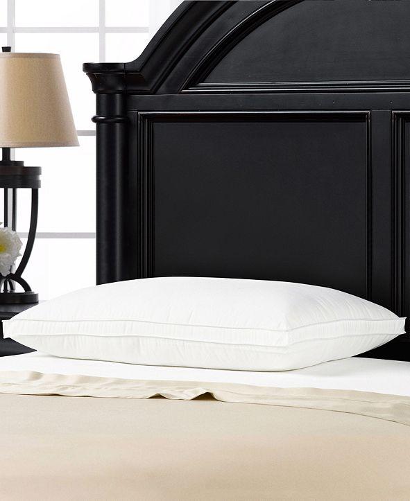 Ella Jayne Overstuffed Plush Med/Firm Gel Filled Side/Back Sleeper Pillow - Standard