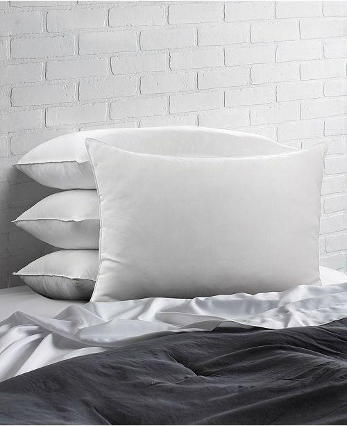 Ella Jayne Overstuffed Plush Allergy Resistant Gel Filled Side/Back Sleeper Pillow - Set of Four - Queen